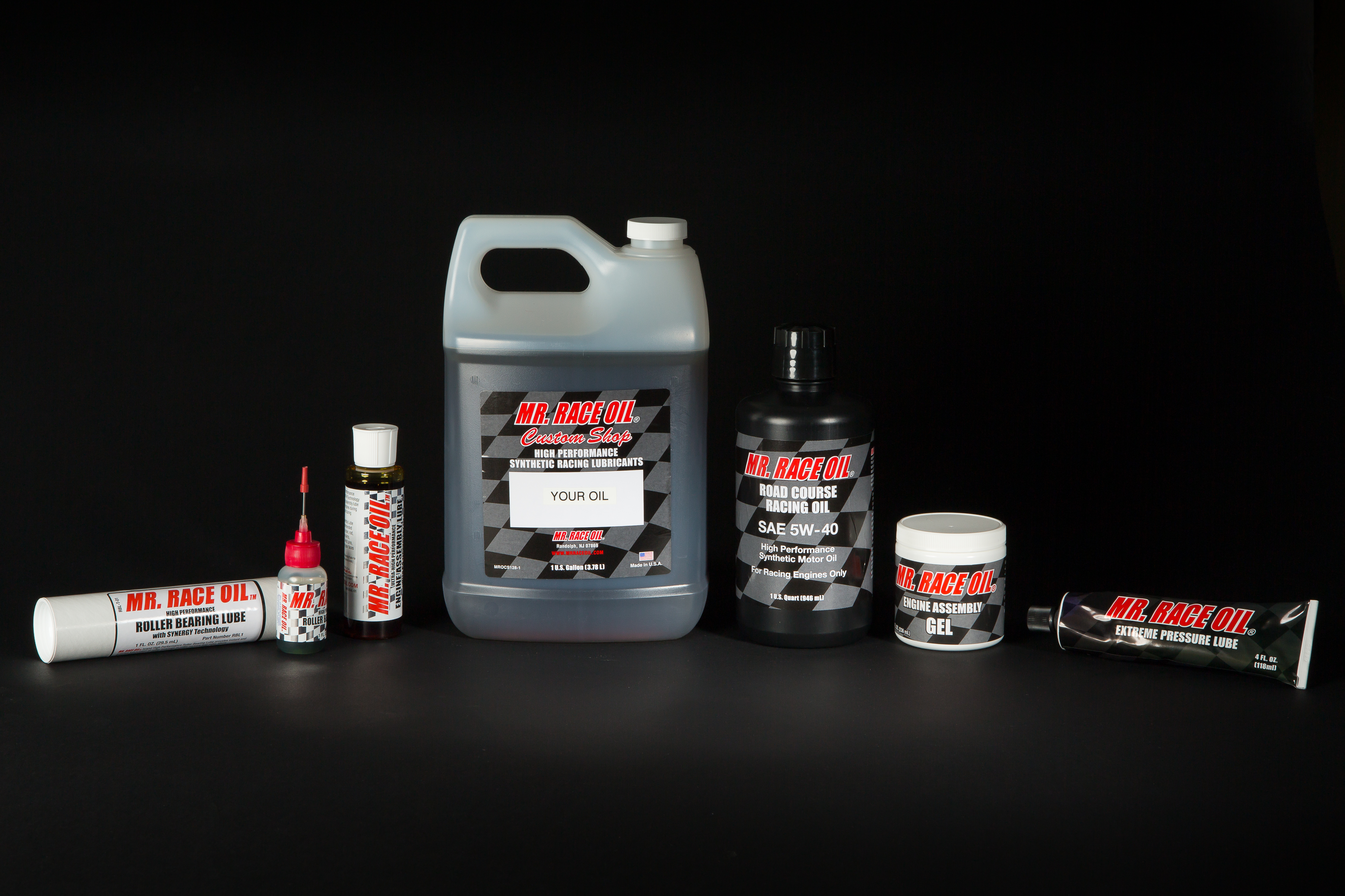 MR. RACE OIL® Engine Assembly Products