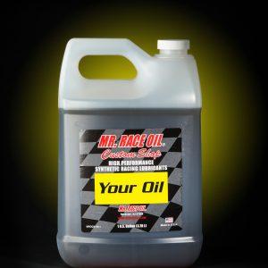 MR. RACE OIL® Custom Shop Racing Oils