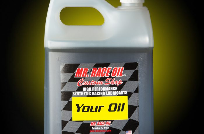 MR. RACE OIL® Custom Shop Racing Oils